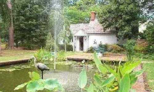 Garden Pond, The Weymouth Center